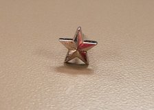 Star Military USA America Patriotic Silver Tone Tie Tack Clasp Bar Pin Lapel in Kingwood, Texas