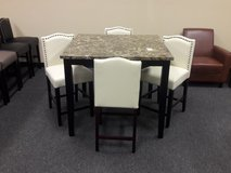 New 5pc Pub Table Dining Set in Travis AFB, California