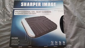 Sharper image gel cushion seat in Nellis AFB, Nevada