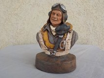 "Garmin statue ""Fighter Pilot"" in Alamogordo, New Mexico"
