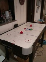 Air hockey table in Naperville, Illinois