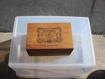 WOOD CIGAR BOX / 4 DRAWERS in Chicago, Illinois