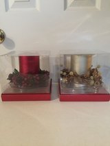 3 pc Holiday Candle Decoration (price each) in Eglin AFB, Florida