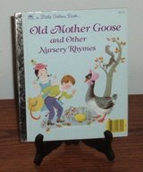 Vintage 1988 Old Mother Goose and Other Nursery Rhymes A Lottle Golden Book Hard Cover in Joliet, Illinois
