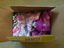 Box of 6t girl clothing in Okinawa, Japan