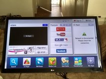 "55"" LG smart TV in Yucca Valley, California"