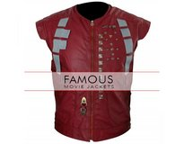 Chris Pratt Guardians Of The Galaxy Leather Vest in Bellaire, Texas