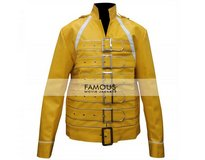 Freddie Mercury Yellow Concert Replica Jacket in Bellaire, Texas