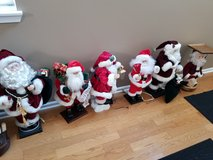 Various Santas and Holiday Items in Elgin, Illinois