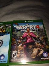 Xbox One Game lot Farcry4, Call of Duty Day Zero etc in Camp Lejeune, North Carolina