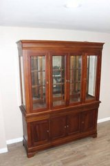 China Cabinet in Excellent condition! - Lights Dimming Hinge  FREE DELIVERY in Kingwood, Texas