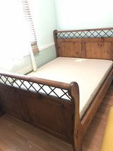 Queen Size Sleigh Bed in Travis AFB, California