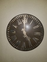 pottery barn metal decorative clock in Great Lakes, Illinois