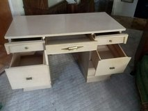 Vintage Desk Blonde Wood in Algonquin, Illinois