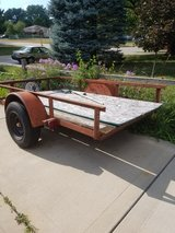 tilt bed trailer in Plainfield, Illinois
