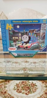 Brand New Thomas The Train Midnight Ride 100 Piece Glow In The Dark Puzzle Un Opened Box in Sugar Grove, Illinois