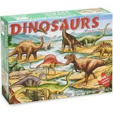 Melissa Doug 421 Dinosaurs Floor Puzzle - 48 Pieces Like New Condition in Sugar Grove, Illinois