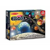 Melissa & Doug Solar System Floor Puzzle (48 pcs, 2 x 3 feet)  Like Brand New in Sugar Grove, Illinois