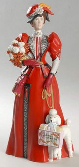 Avon Mrs. Albee Presidents Club Award 1997 - Collector's Item - Porcelain Figurine in Yorkville, Illinois