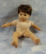 American Girl Bitty Baby Twin Doll Brown Hair Eyes - Retired Collectors Item - Ready To Be Loved By in Sugar Grove, Illinois