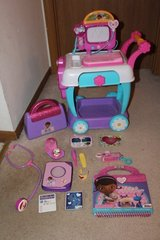 Doc McStuffins Toy Hospital Care Cart, Hospital Bag, Book of Boo Boos, Friendship Book, Accessories in Chicago, Illinois
