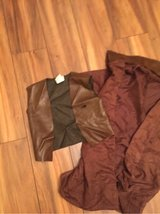 Cowboys/sheriff long coat with vest Sz small kids in Naperville, Illinois
