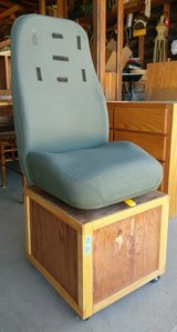 handmade hummer seat with wheels in 29 Palms, California
