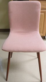 Soft Pink Dining Chairs in Okinawa, Japan
