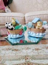 Resin Noah's Ark Bookends - Great For Baby/Toddler's Bedroom in Sugar Grove, Illinois