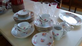 Vintage dish set from Poland in Sugar Grove, Illinois