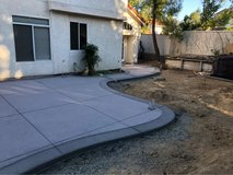 Concrete and Landscaping/Affordable Prices in Travis AFB, California