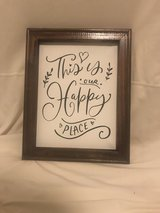 Wall Decor - this is our happy place in Yucca Valley, California