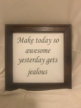 Wall Decor - Make today awesom in Yucca Valley, California