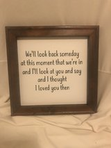 Wall Decor - I thought I love you then in Yucca Valley, California