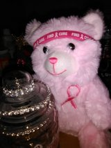 Breast cancer candy jar in Fort Riley, Kansas