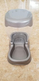 Dog Food Dispenser - Grey/silver in Okinawa, Japan