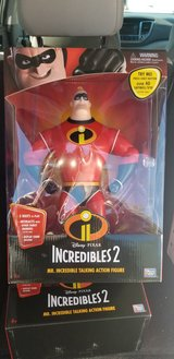 Mr. Incredible2 talking action figure in Fort Benning, Georgia