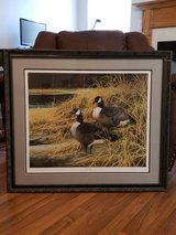 """Ducks Unlimited signed/numbered print """"Rendezvous"""" 1999 in Warner Robins, Georgia"""
