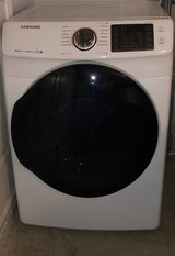Samsung dryer, only a year old with extended warranty in Warner Robins, Georgia