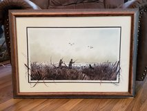 Willow Blind by Brett Smith, Ducks Unlimited Framed Print Signed/number in Warner Robins, Georgia