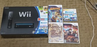 Nintendo Wii console w/games and extra controller in Okinawa, Japan