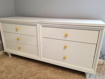 Solid wood WHITE DRESSER in Naperville, Illinois
