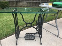 Antique sewing machine table in The Woodlands, Texas