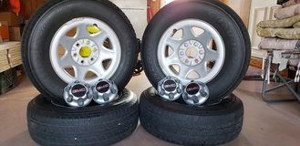 Complete tire and wheel set in Naperville, Illinois