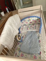 Baby Bed/Crib with Extras in Wiesbaden, GE