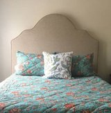 Scalloped Upholstered Headboard in Beaufort, South Carolina