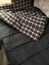 Gray cold weather sleeping bag in Naperville, Illinois