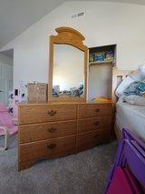 Dresser with mirror in Fort Lewis, Washington