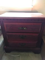 Cherry wood nightstand in Fort Campbell, Kentucky