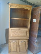 Bookcase Wall Unit Solid Wood in St. Charles, Illinois